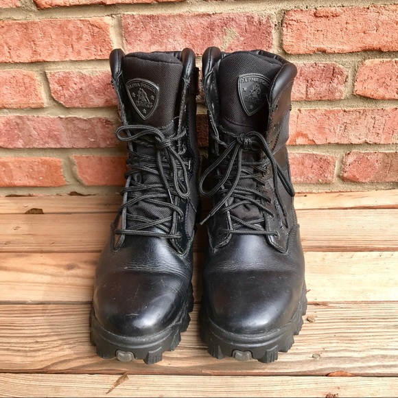 9c13645f9ed Rocky Alpha Force Black Boots